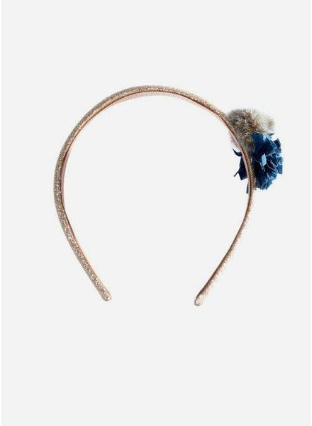 Maileg hairband petrol