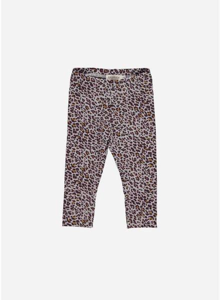 MarMar Copenhagen limited dark plum leo leg leopard