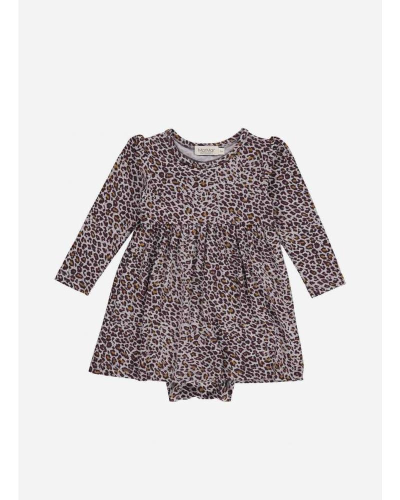 MarMar Copenhagen ramona dress leopard limited dark plum leo