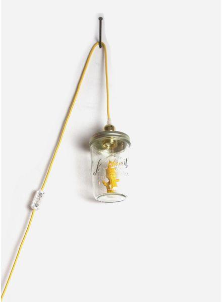 La Tete Le Bocal lamp toekan vogel geel