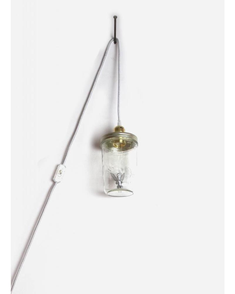 La Tete Le Bocal lamp tinkerbell fee zilver