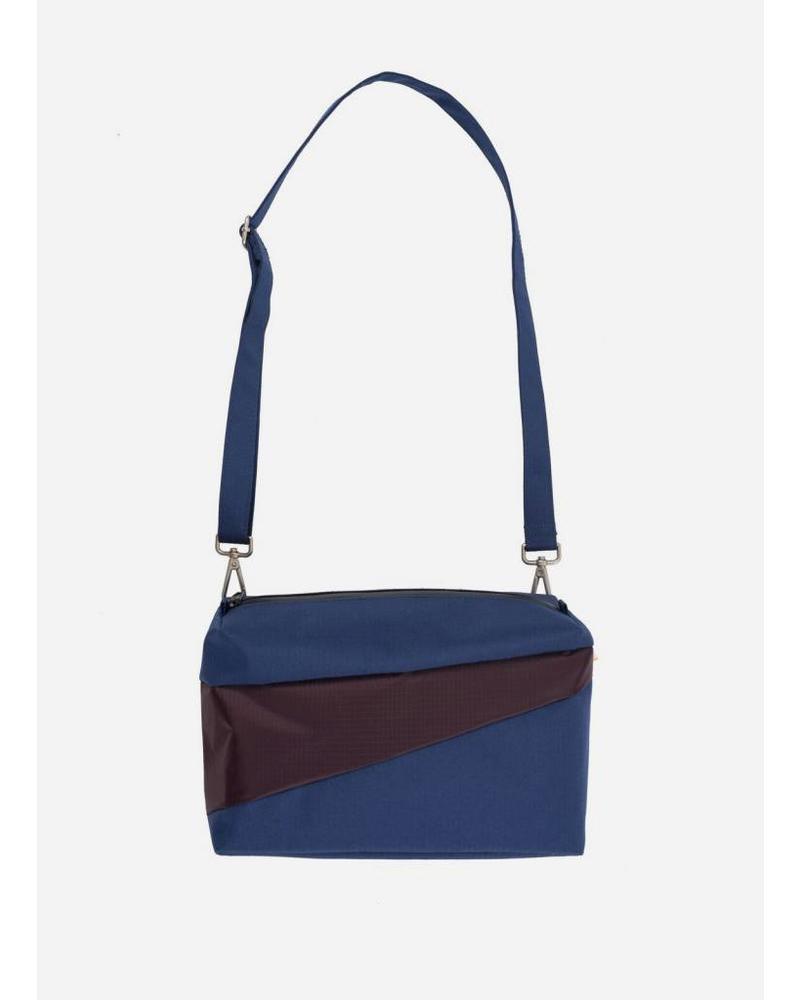 Susan Bijl bum bag navy & oak
