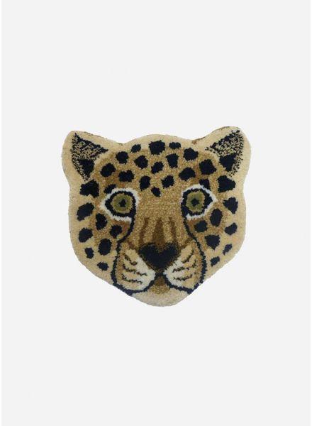 Doing Goods loony leopard head rug