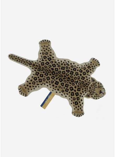 Doing Goods loony leopard rug small