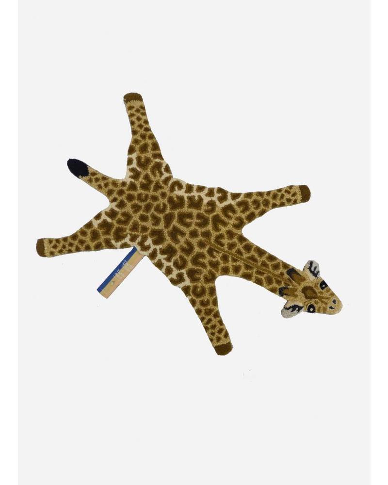 Doing Goods gimpy giraffe rug small