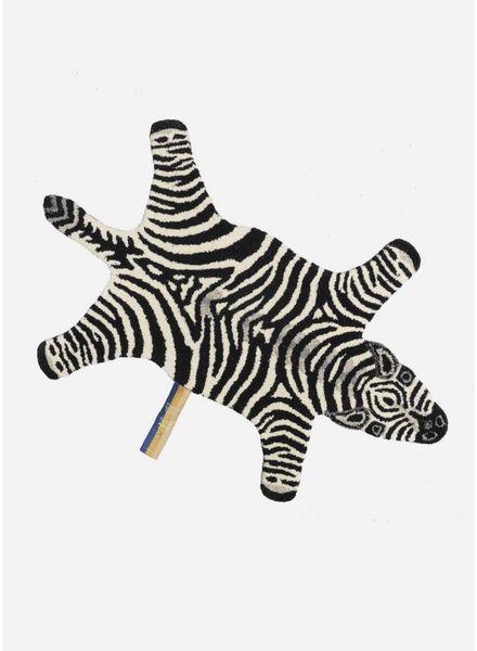 Doing Goods chubby zebra rug small