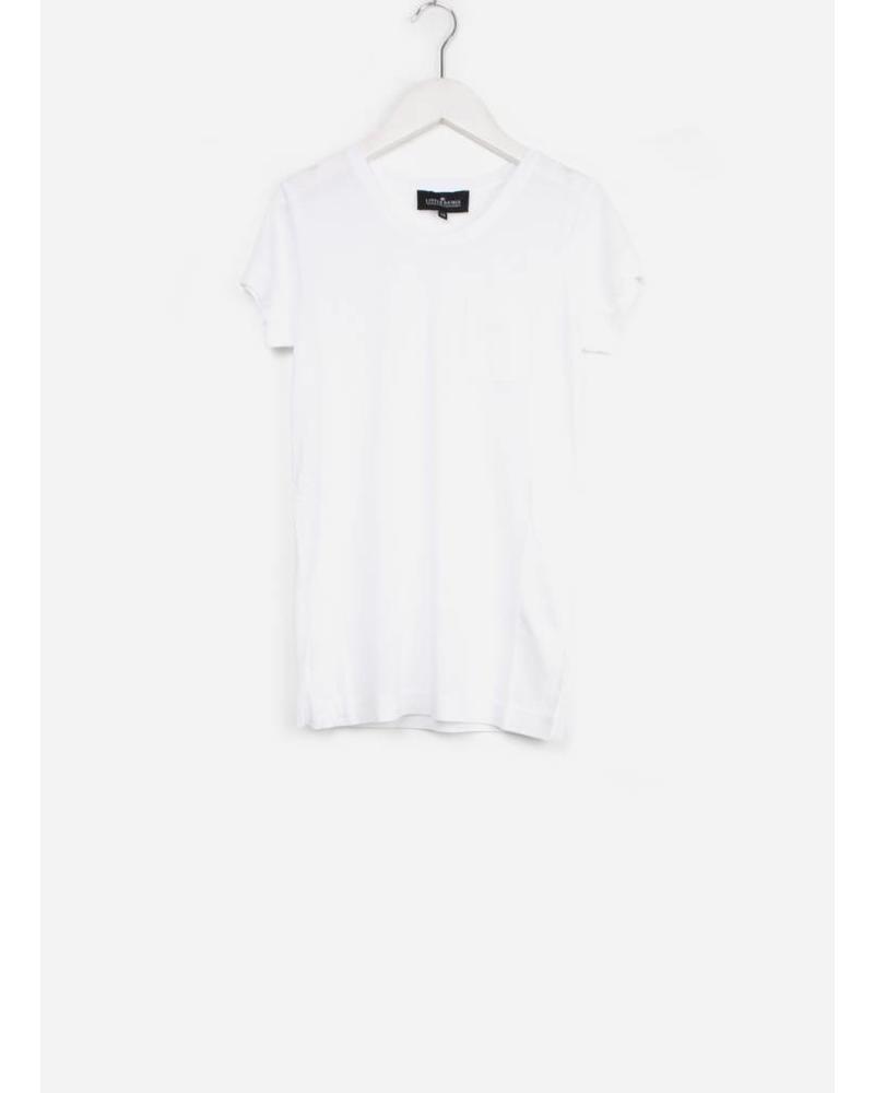 Designer Remix Girls LR new blos tee white