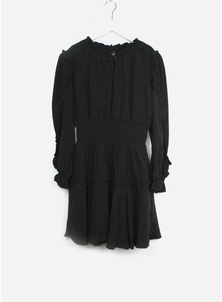 Designer Remix Girls jurk nini smock black
