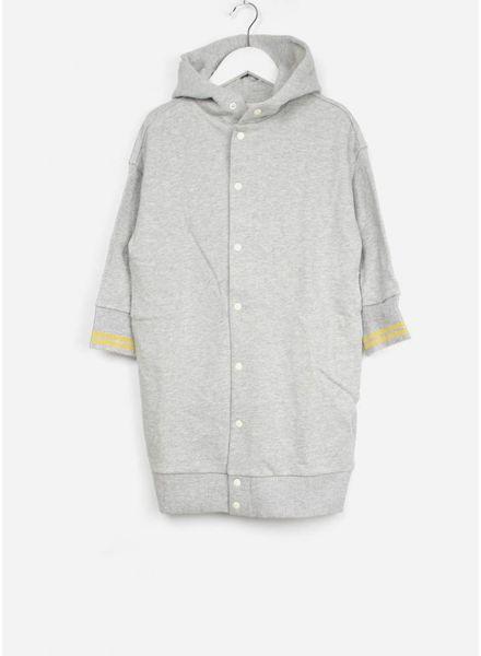 Bellerose sweatshirt bazil grijs