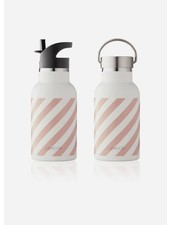 Liewood anker water bottle stripe rose