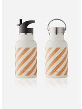 Liewood anker water bottle stripe mustard