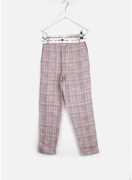 Les Coyotes De Paris lea pants tartan check