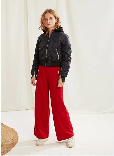 Les Coyotes De Paris stella pants bright red
