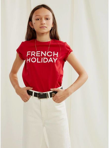 Les Coyotes De Paris remi shirt bright red