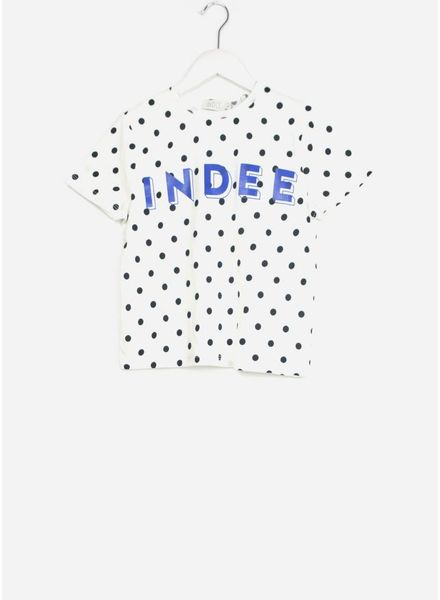 Indee shirt emerald white