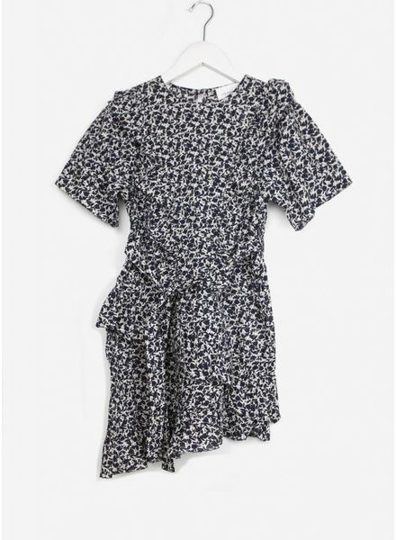 Les Coyotes De Paris cleo dress mini navy flower