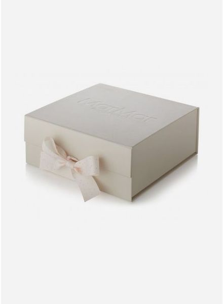 MarMar Copenhagen baby gift box dust print bright rose