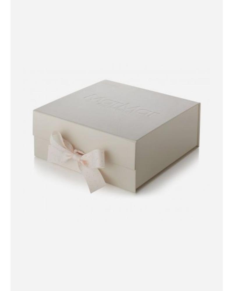 MarMar Copenhagen baby gift box dust print bright rose