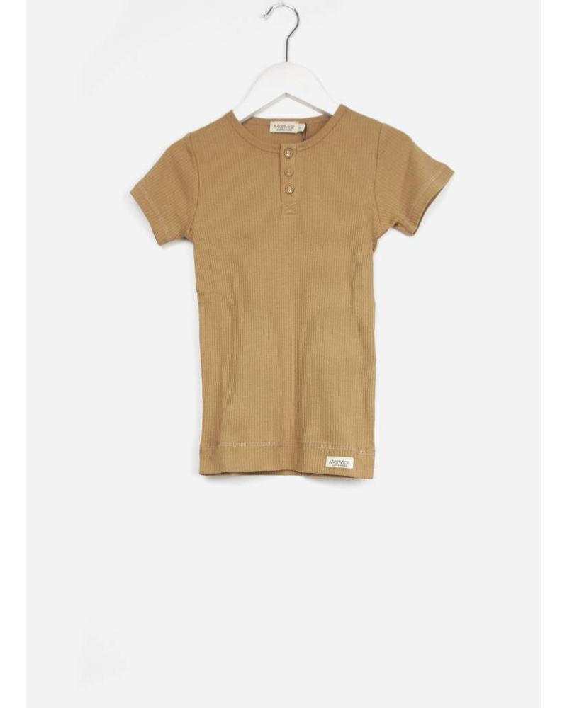 MarMar Copenhagen tee ss t-shirt unisex caramel