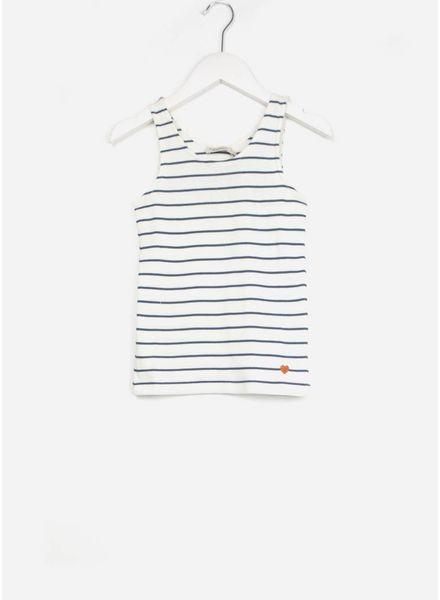MarMar Copenhagen tale plain shirt unisex shaded blue stripes