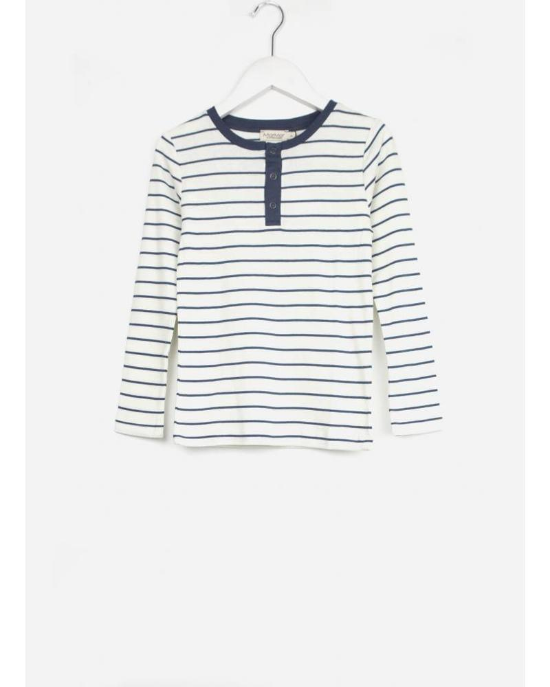 MarMar Copenhagen trevor t-shirt boy shaded blue stripe