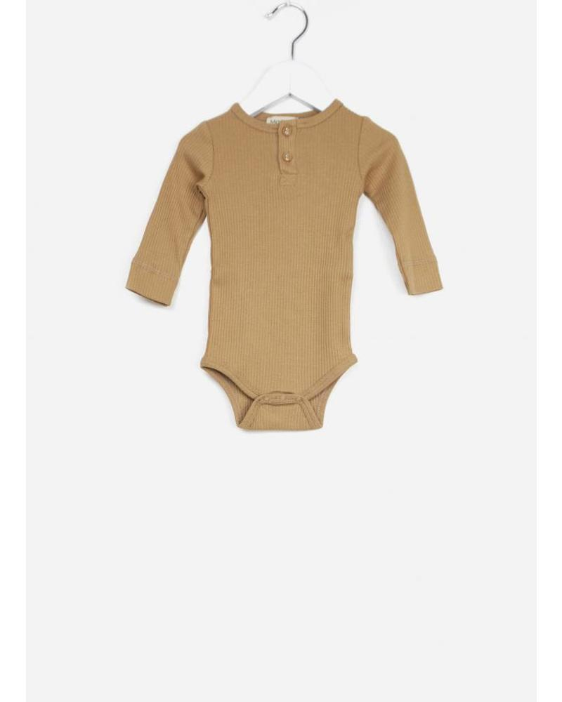 MarMar Copenhagen body ls baby unisex caramel