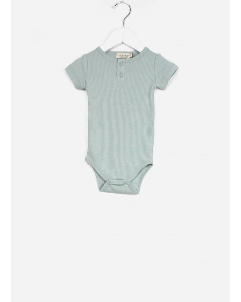 MarMar Copenhagen body ss baby unisex moondust blue