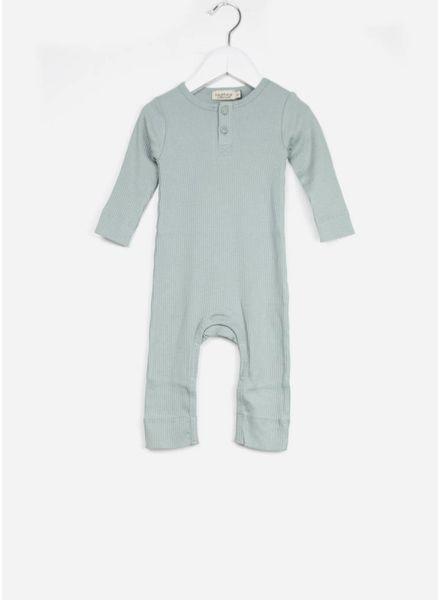 MarMar Copenhagen rompy baby unisex moondust blue