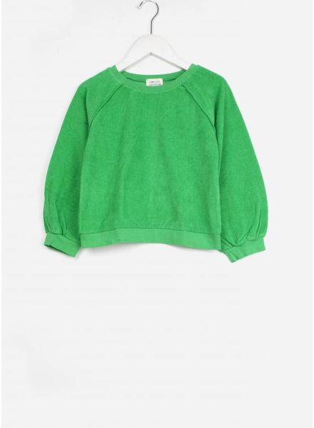 Long Live The Queen terry sweater groen