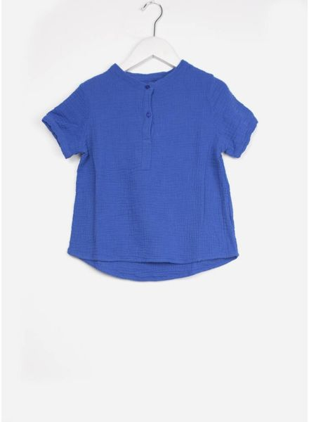 Long Live The Queen blouse ss blauw