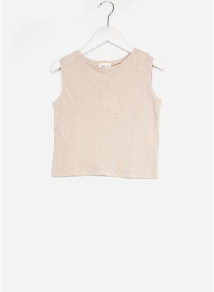 Long Live The Queen sleeveless shirt zand