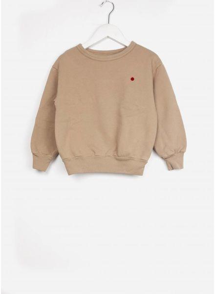 Long Live The Queen sweater caramel