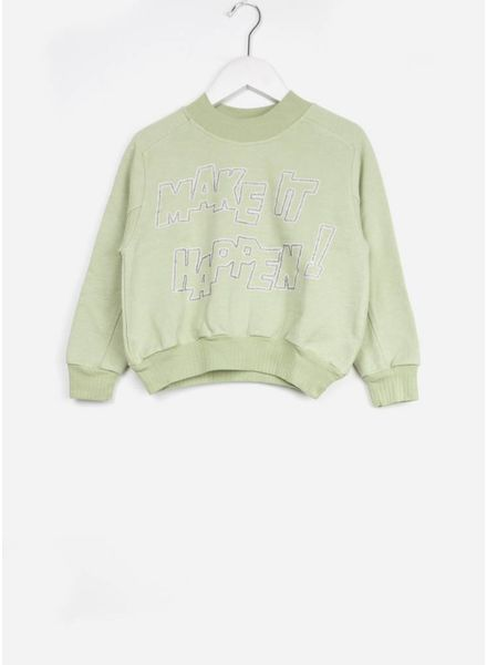Bellerose girls sweatshirt argile