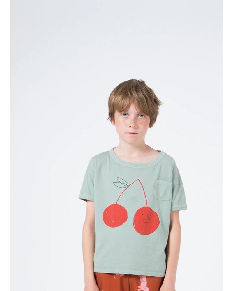 Bobo Choses cherry short sleeve tshirt