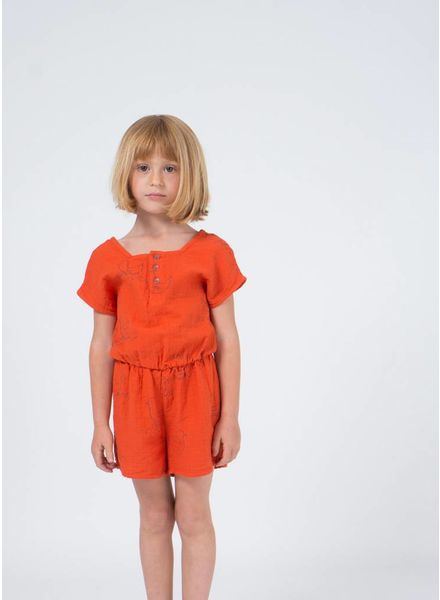 Bobo Choses onepiece geese sleeveless playsuit