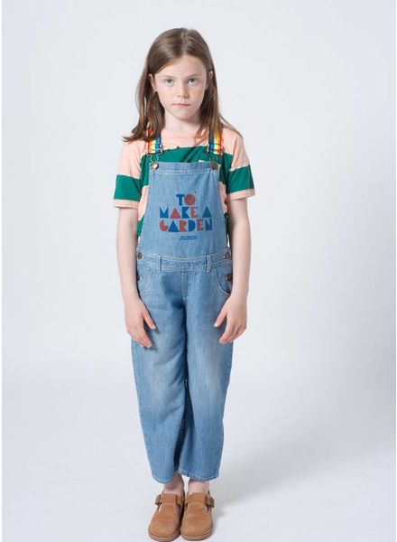 Bobo Choses onepiece geometric denim dungaree