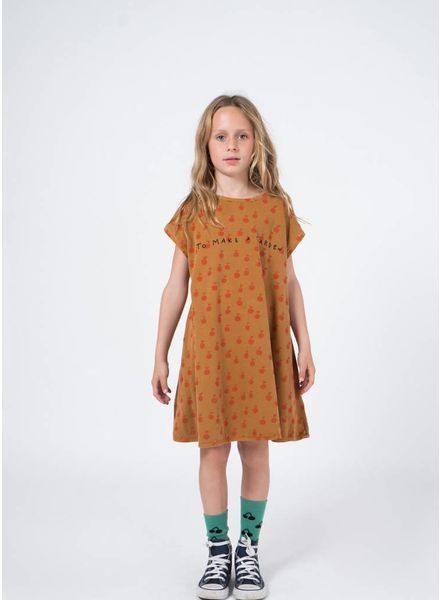 Bobo Choses jurk apples evase dress