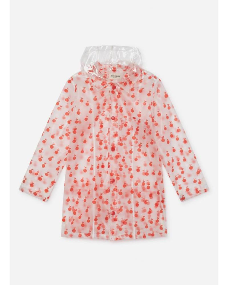 Bobo Choses apples raincoat