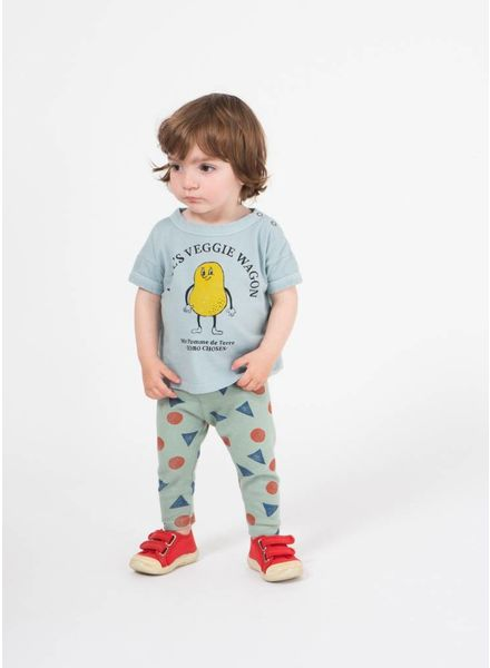 Bobo Choses shirtje baby pomme de terre short sleeve