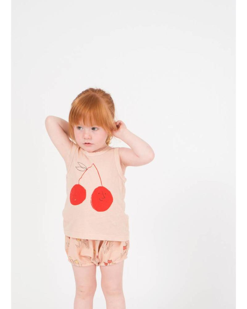 Bobo Choses cherry linen tank top