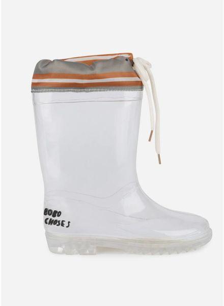 Bobo Choses laces rain boots kids