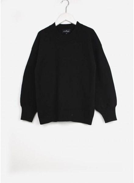 Little Remix trui glenda sleeve zwart