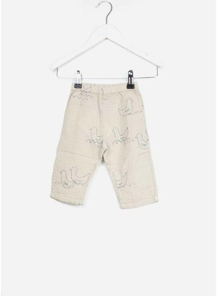 Bobo Choses broekje baby geese baggy trousers