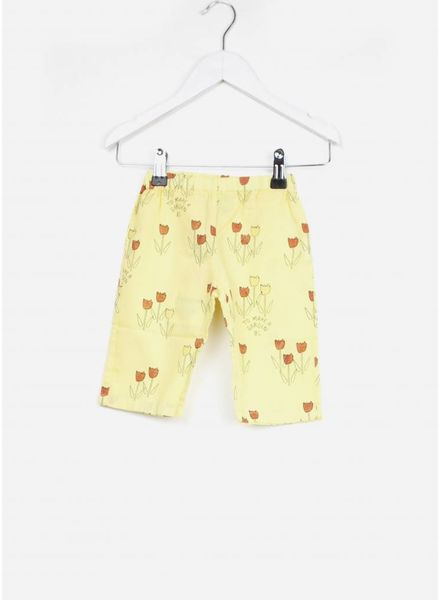 Bobo Choses broekje baby poppy prairie baggy trousers