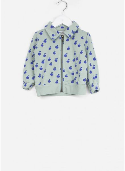 Bobo Choses vestje baby apples zipped sweatshirt