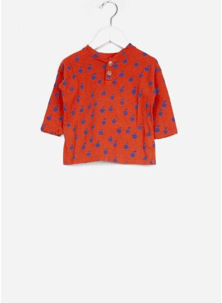 Bobo Choses shirtje baby apples buttons