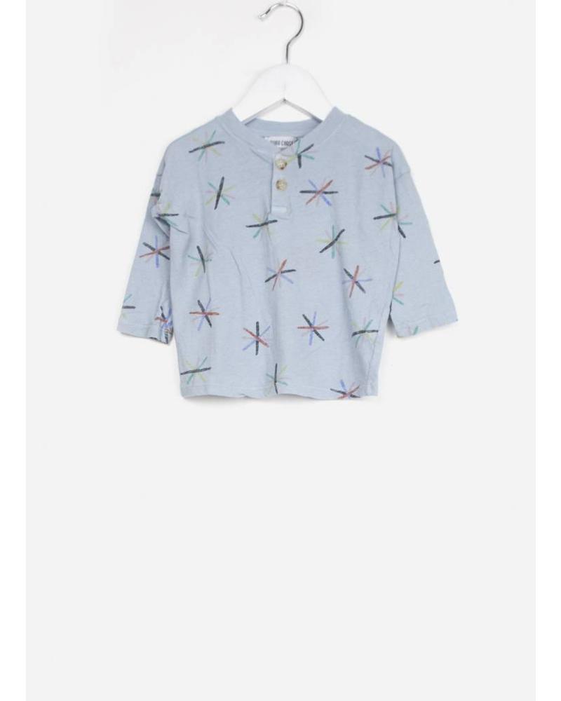 Bobo Choses dandelion buttons tshirt baby