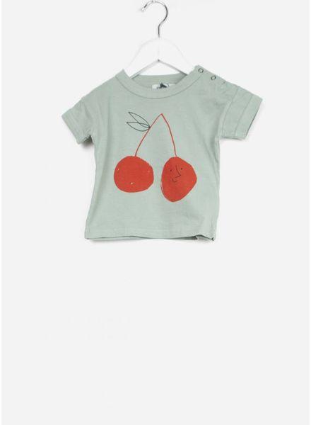 Bobo Choses shirtje baby cherry short sleeve