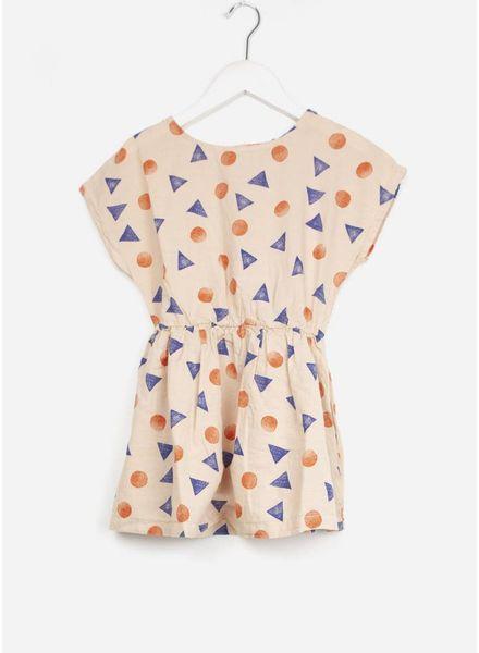 Bobo Choses jurk pollen tshape dress