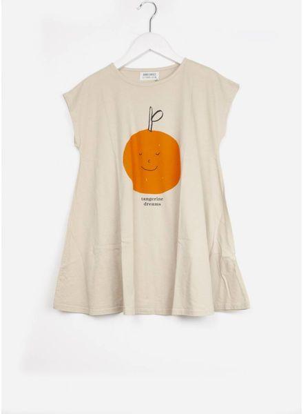 Bobo Choses jurk tangerine dreams evase dress